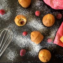 Mini muffins framboise