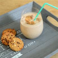 Recette de milkshake aux cookies sans gluten