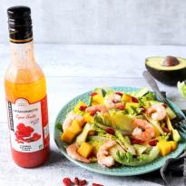 Salade salsa, mangue et goji