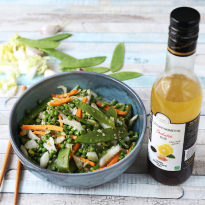 Wok asiatique de légumes
