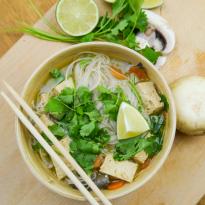 SOUPE Tom Kha végétarienne