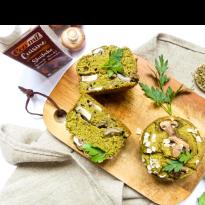 muffin salé aux champignons shiitake Ecomil