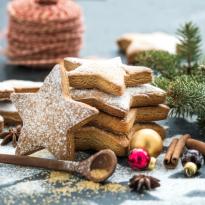 Biscuit de Noël à la cannelle