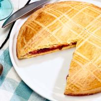 Gâteau basque Fraise Bio Cranberry Saveurs Attitudes