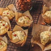 Muffins aux amandes craquantes