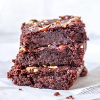Brownie aux noisettes - Ecomil Instant noisettes
