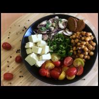 Bol composé avec Tofu Nature Sojami