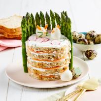 Sandwich cake de Pâques