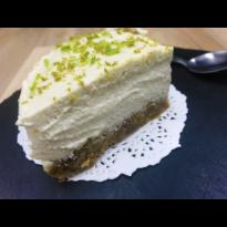 Cheesecake vegan citronné