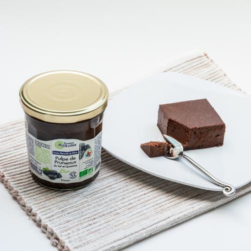 Gâteau Chocolat et Pruneaux sans sucre ajouté
