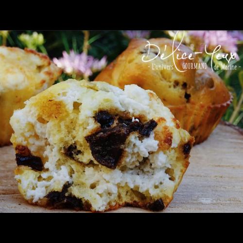 Recette muffin pruneaux chèvre