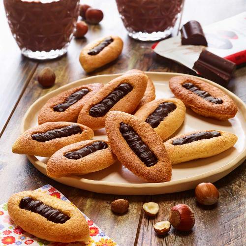 Barquettes au chocolat